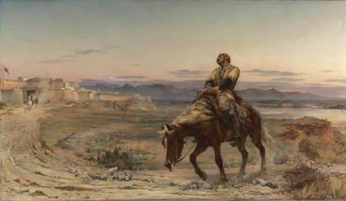Elizabeth Butler (Lady Butler), The Remnants of an Army 1879