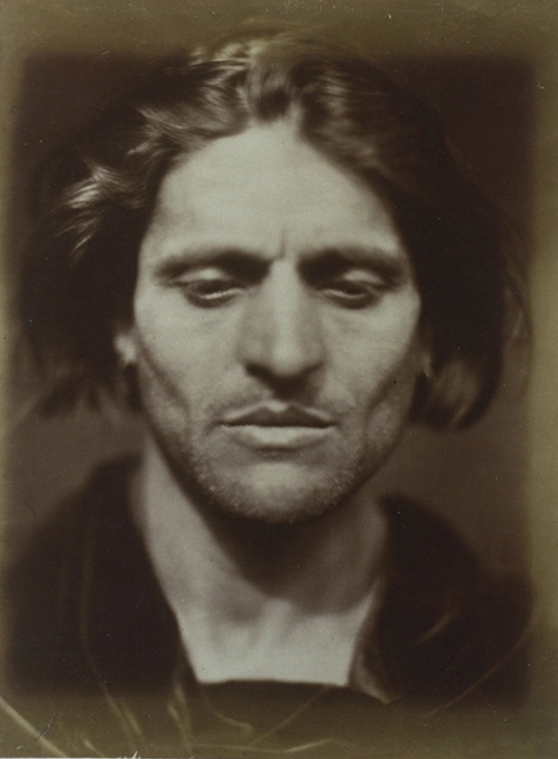 Julia Margaret Cameron's Iago, Study from an Italian, 1867