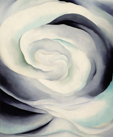 Abstraction White Rose , 1927 - Georgia O'Keeffe
