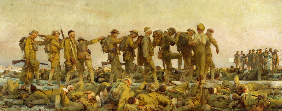 Gassed by John Singer Sargent, Collection of the Imperial War Museum