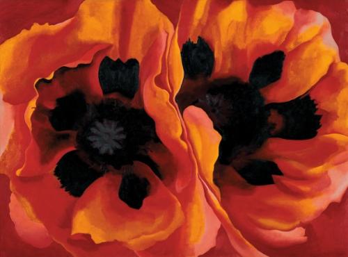 Oriental Poppies , 1927 - Georgia O'Keeffe