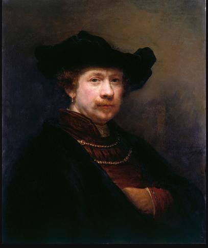 Rembrandt 'Self-Portrait in a Flat Cap'