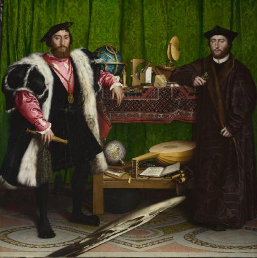 Hans Holbein 'The Ambassadors'