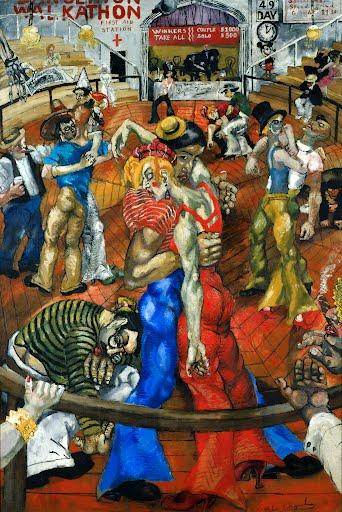 Philip Evergood 'The Dance Marathon'