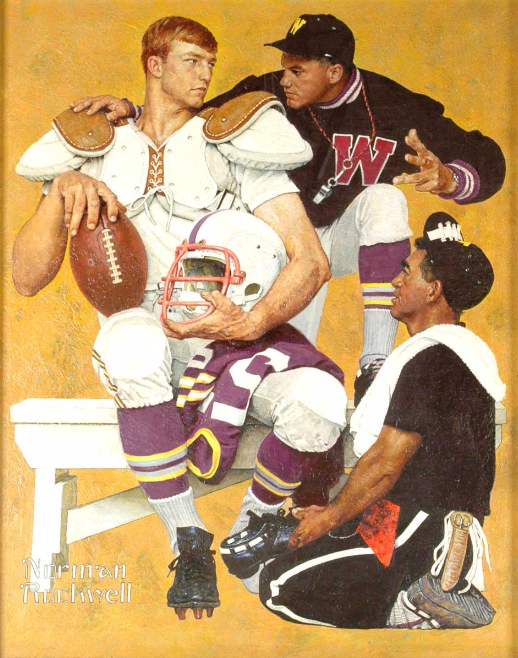 Norman Rockwell, The Recruit