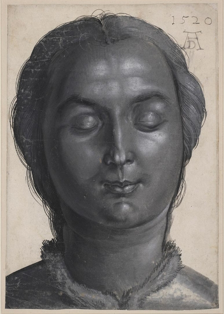 Albrecht Durer, Head of a Woman