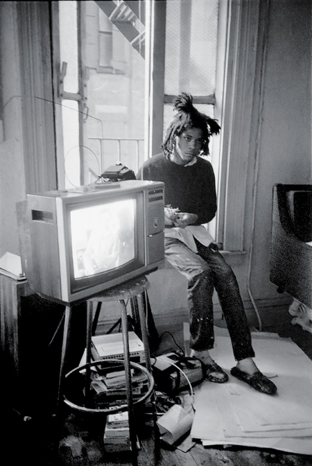 The artist in 1983 at his studio on Crosby Street.Roland Hagenberg
