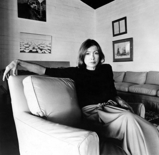 Joan Didion in the 1970's