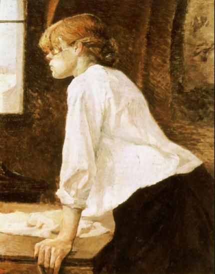 Henri de Toulouse-Lautrec, La Blanchisseuse