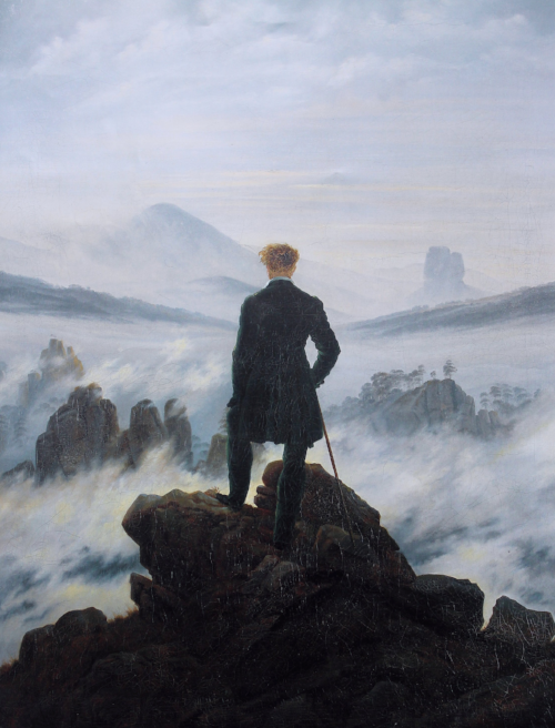 Caspar David Friedrich 'Wanderer above the Sea of Fog'