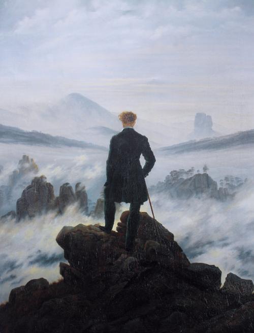 Caspar David Friedrich 'Wanderer above the Sea of Fog'