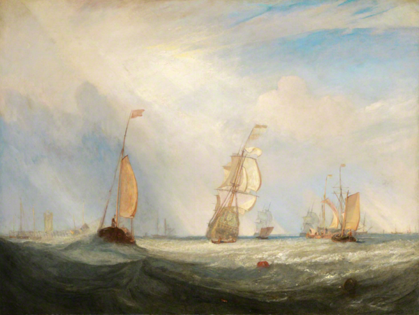 JMW Turner - Helvoetsluys