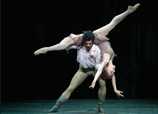 Federico Bonelli and Francesca Hayward, Royal Ballet. Photo:  Johan Persson