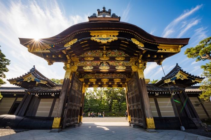 Nijo Castle gates