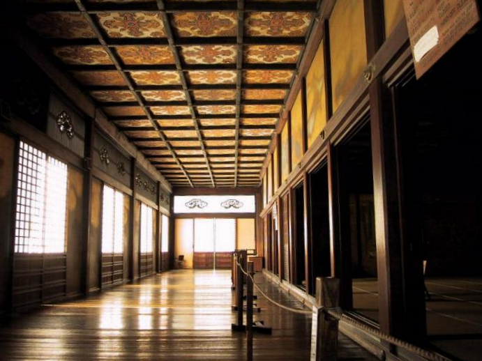 Uguisubari corridor ( Nightingale Floor) Nijō Castle
