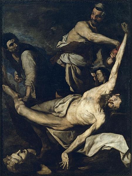 Ribera, The Martyrdom of Saint Bartholomew (1644)