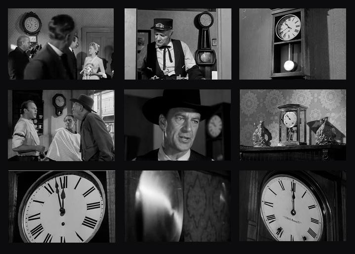 Collage courtesy: https://journalofseeing.wordpress.com/2011/11/01/high-noon-clocks/