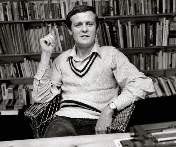 David Hare, 1979. Loveridge/Evening Standard/Getty Images