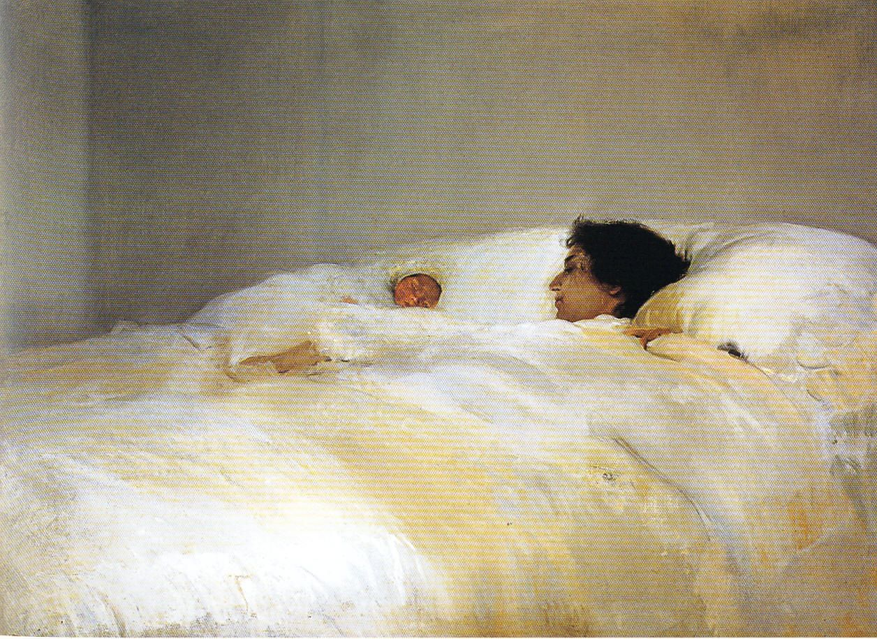 Joaquín Sorolla, Mother, 1895–1900