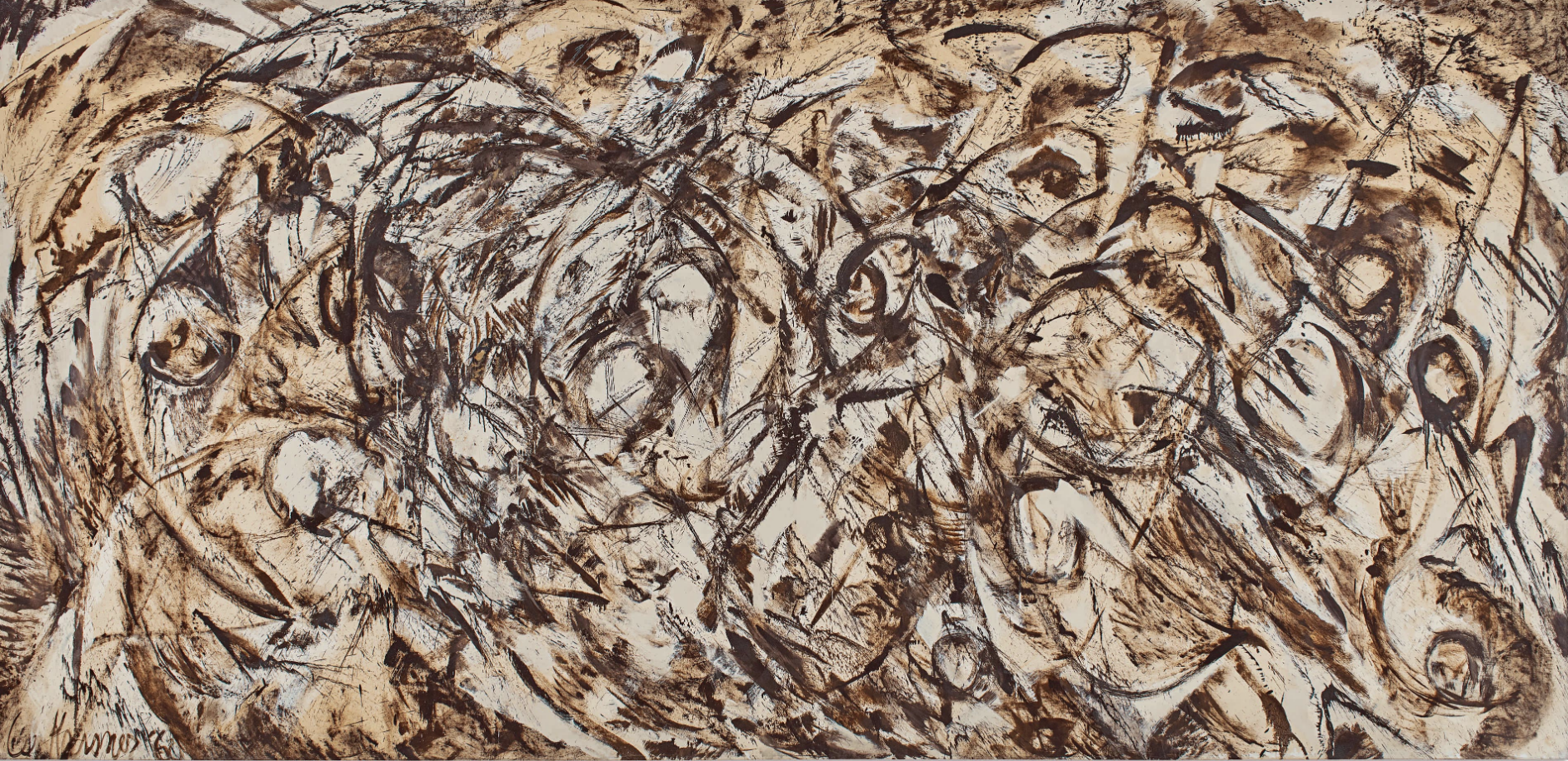 Lee Krasner,  The Eye is the First Circle is