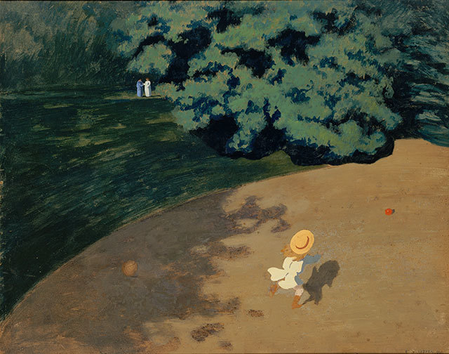 Félix Vallotton,  The Ball (Le Ballon),  1899