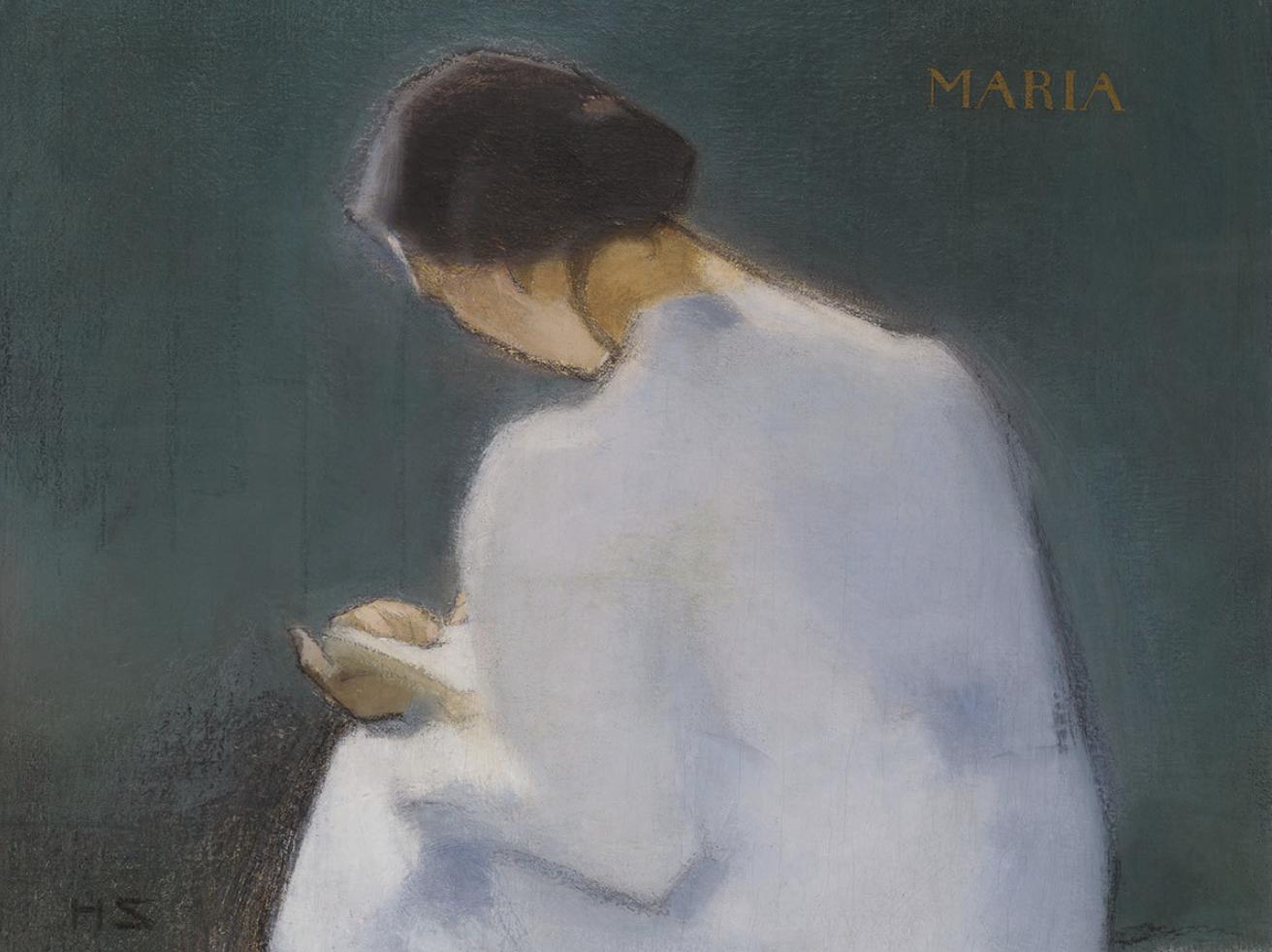Helene Schjerfbeck,  Maria (detail),  1909