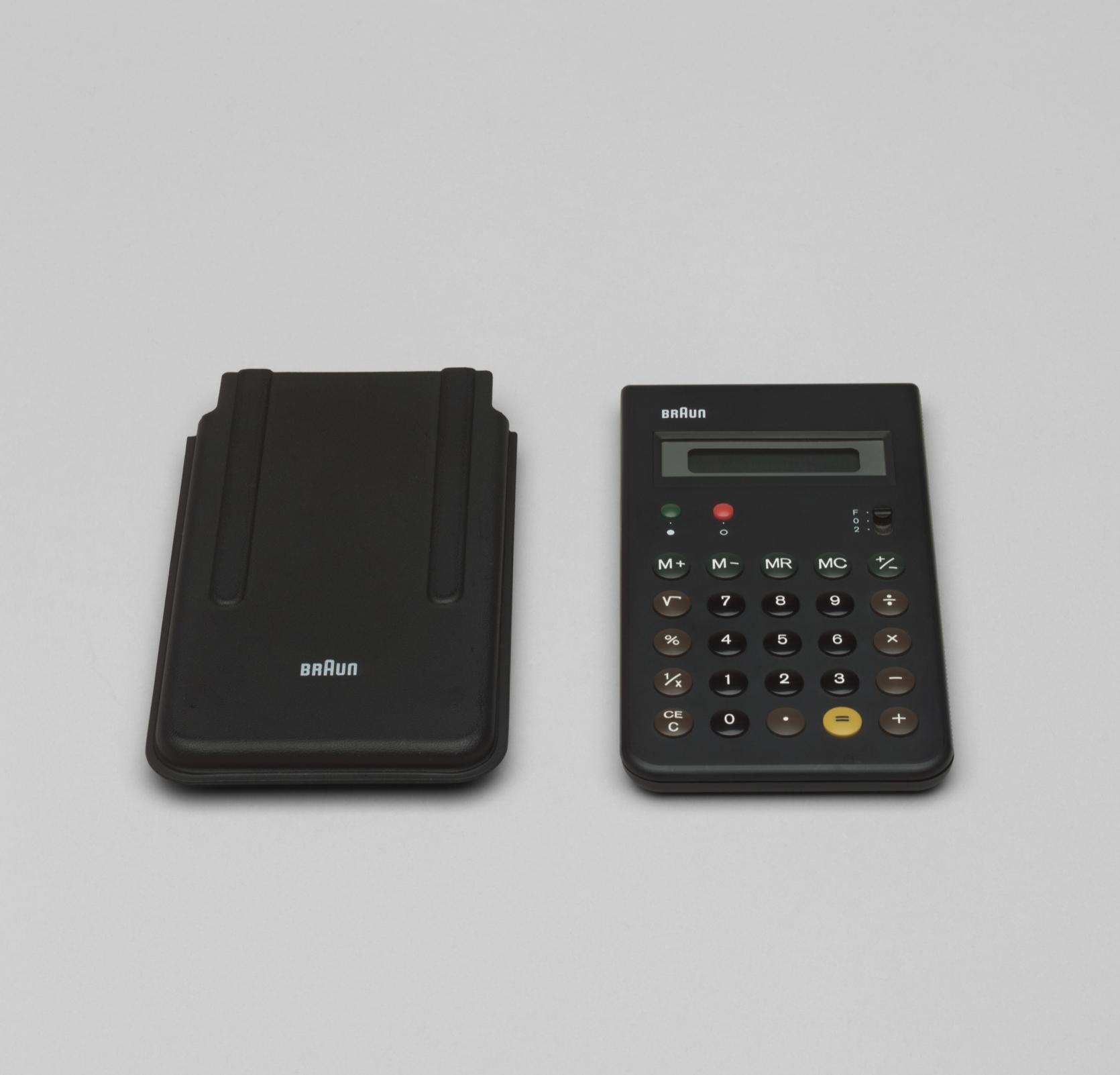 Dieter Rams ,  Dietrich Lubs Calculator (model ET 55)1980