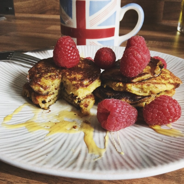 Egg and Banana Pancakes