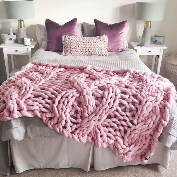 Candyfloss Cable Blanket of my dreams