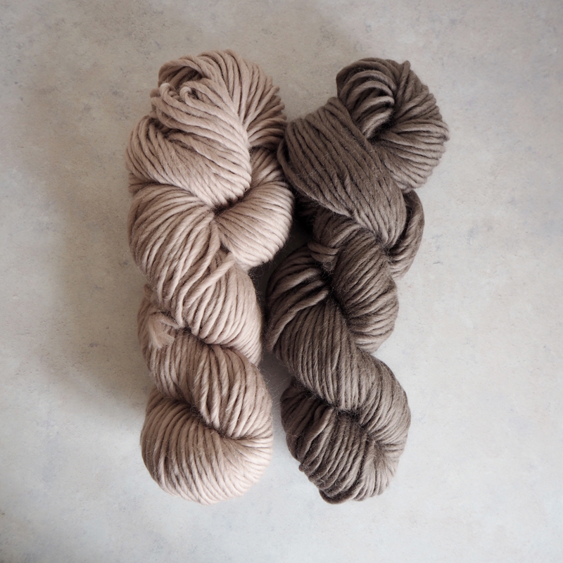 Mink Blush and Pewter Brown
