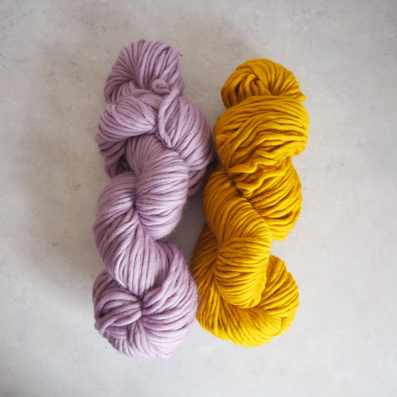 Mustard and Lilac