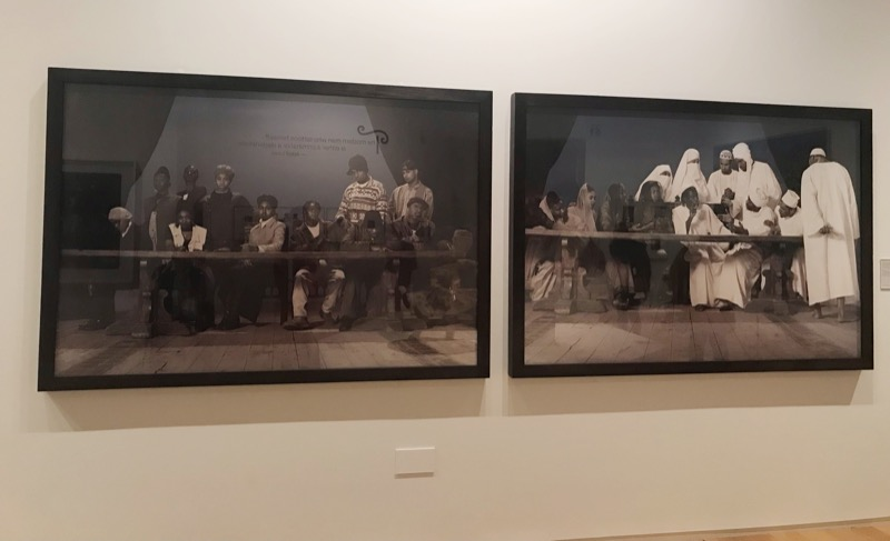 (my dreadful picture of…) Faisal Abdu'Allah - The Last Supper, 1995