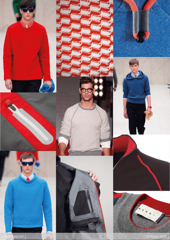 Sporty Knits Spring 2015