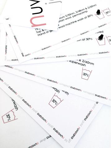 Shade card handout