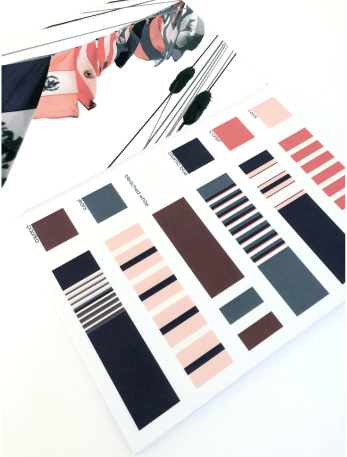 Stripe combinations navy