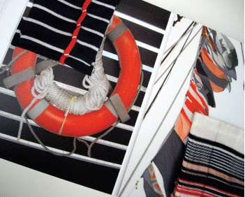 Pirate theme knitwear