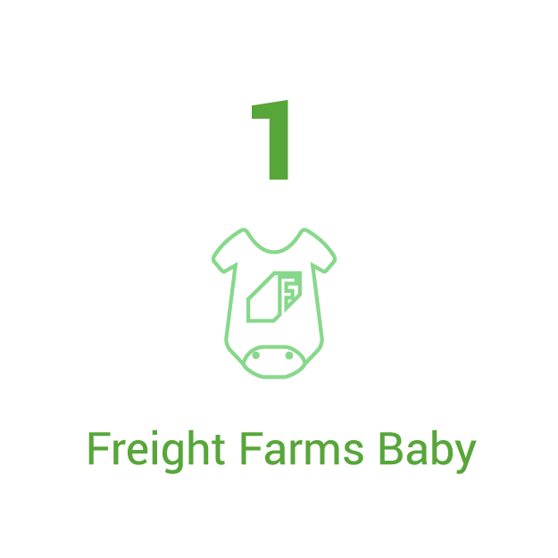 The First Freight Farms Baby
