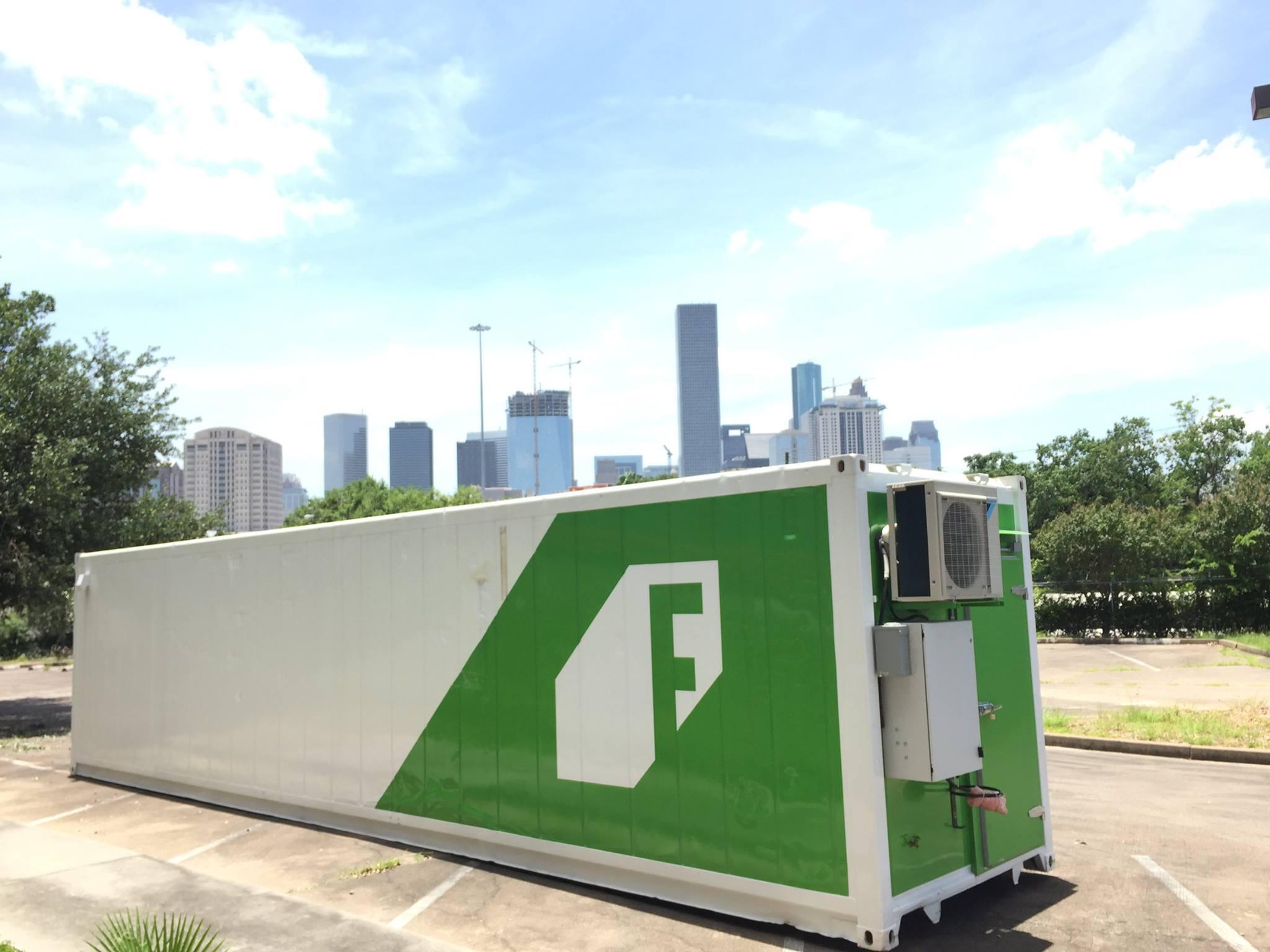 One of AIAB's Leafy Green Machine