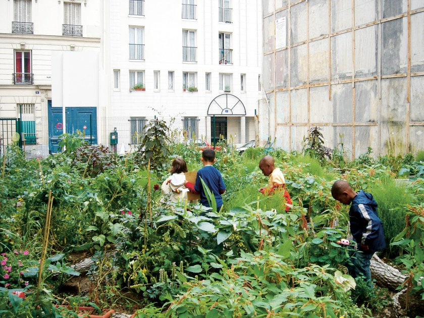 Cercles jardins in Paris Photo:  Urban Green Blue Grids