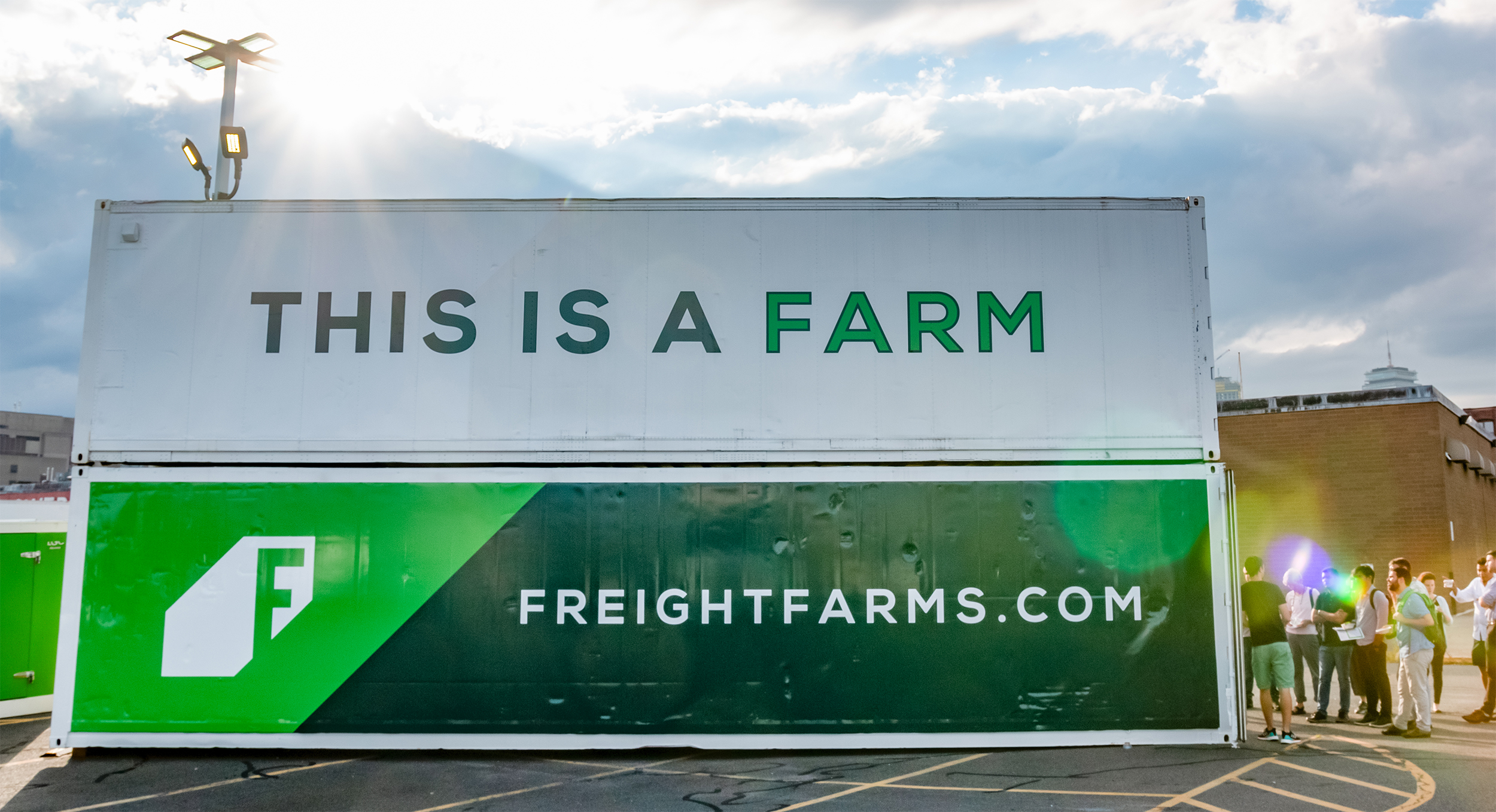 Why Shipping Container Farming?