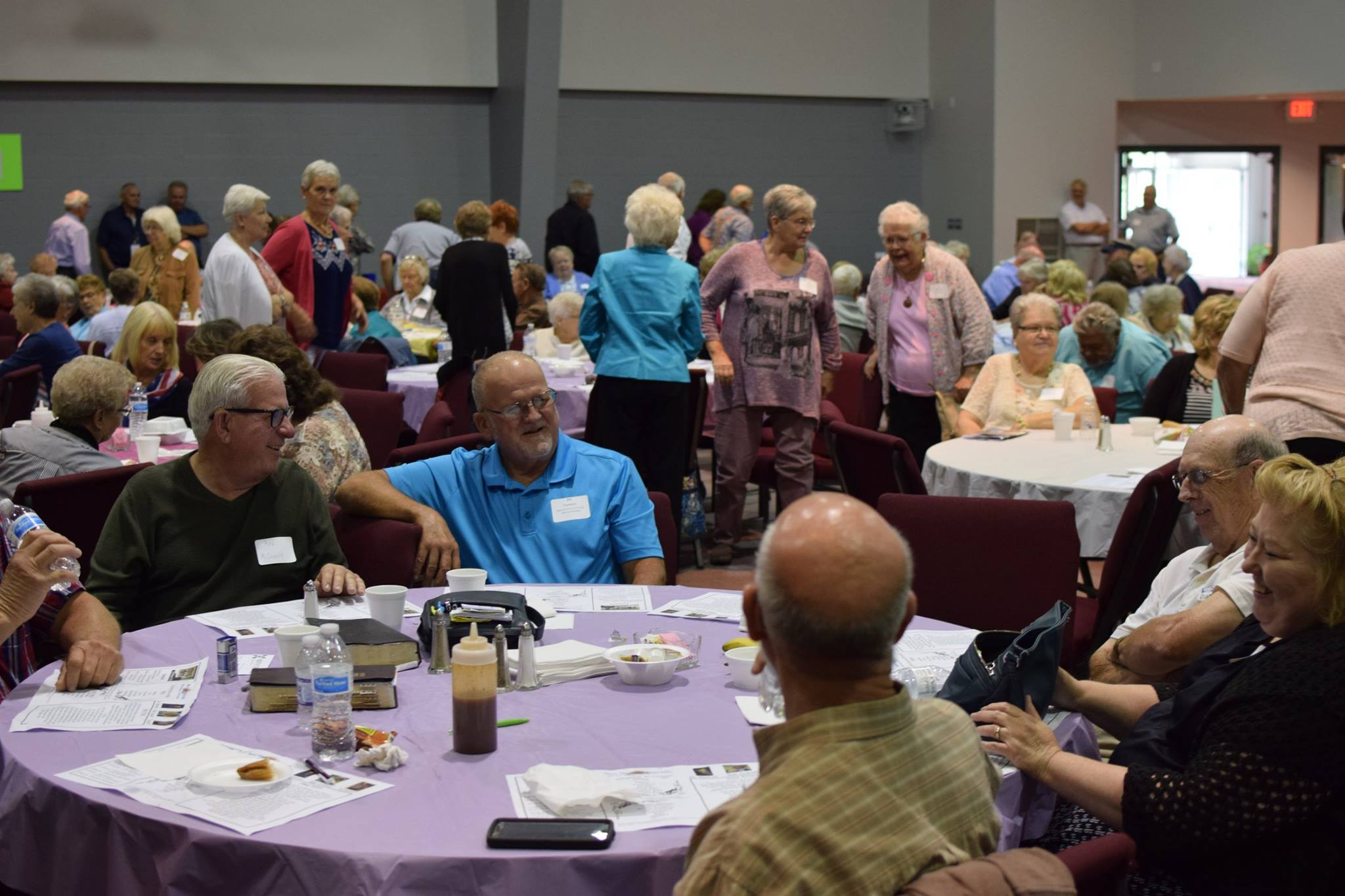 """Senior Adults - Whether serving at their monthly """"In Joy"""" dinner or driving the van for one of their day trips, there are many ways to help our thriving Senior Adult ministry!"""