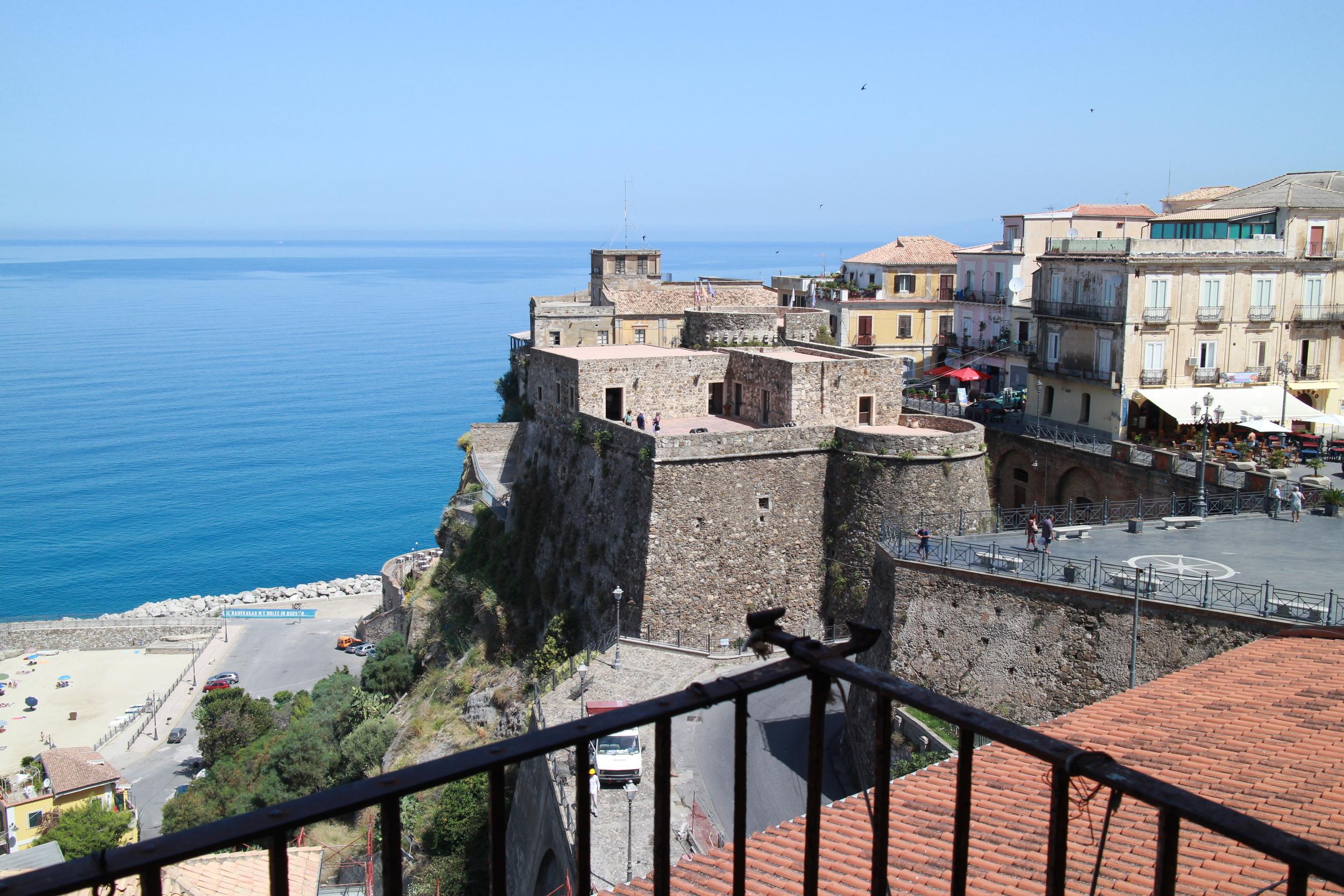Castello Murat above Pizzo Marina