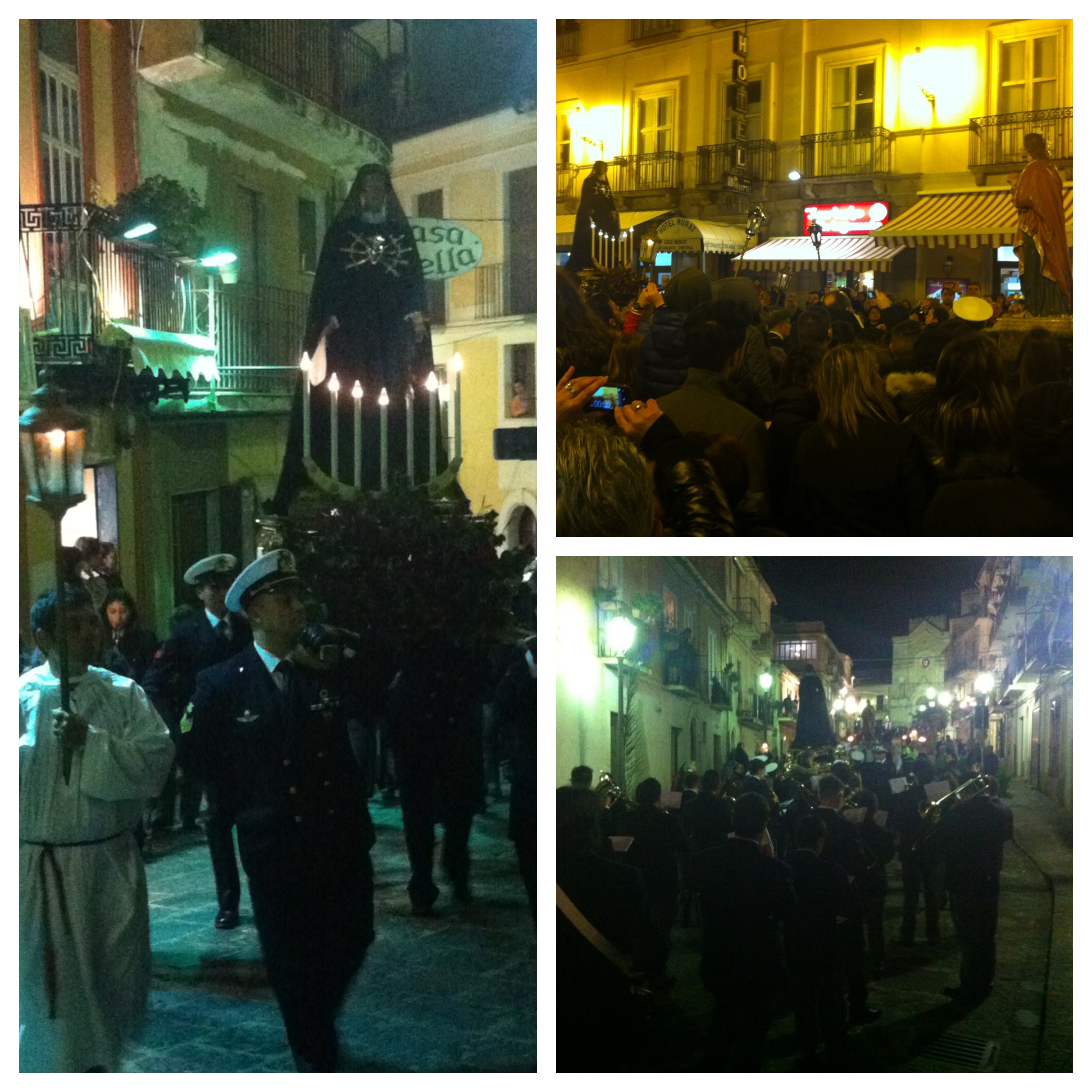 Procession in Pizzo