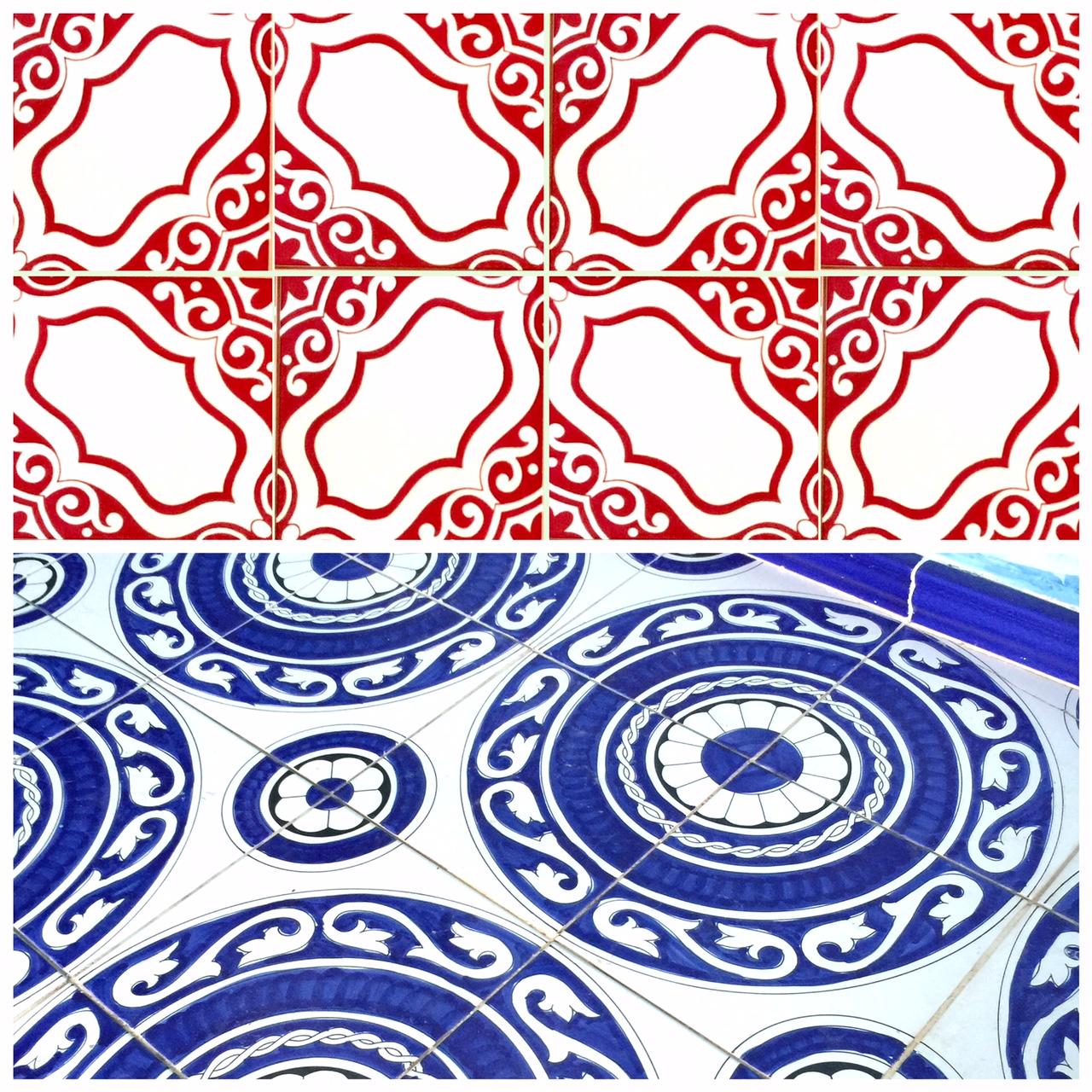 mediterranean tiles from Vietri