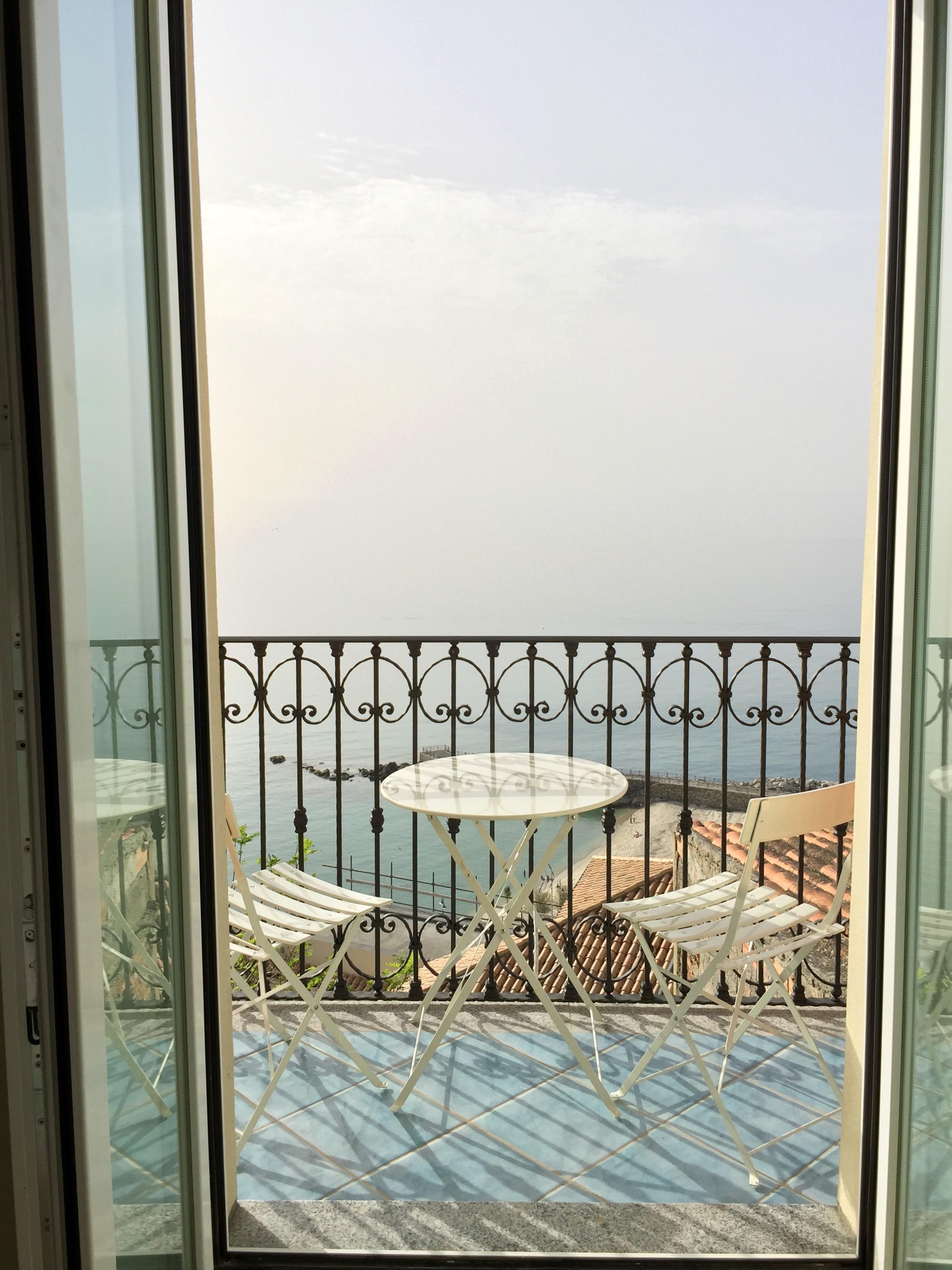 Balcony of the bedroom
