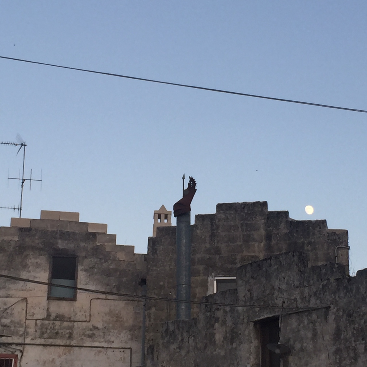 A day in Matera ends