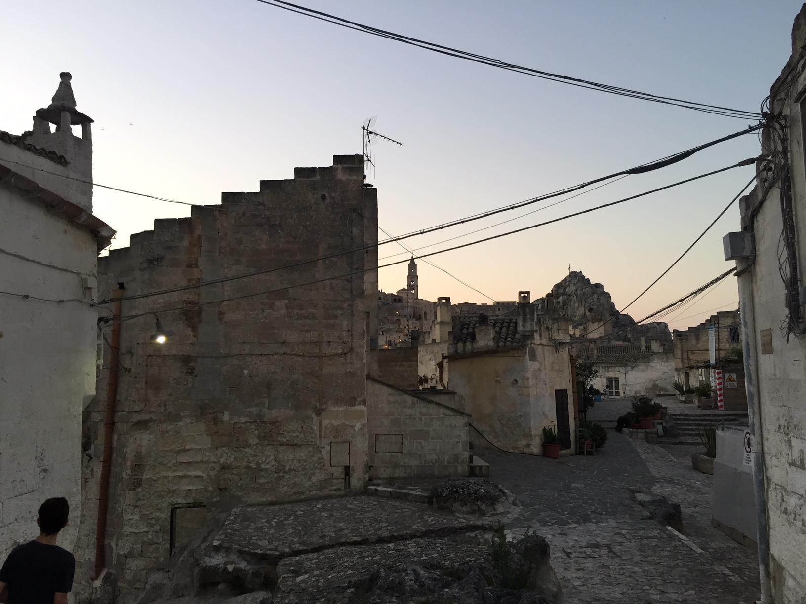 Matera twilight