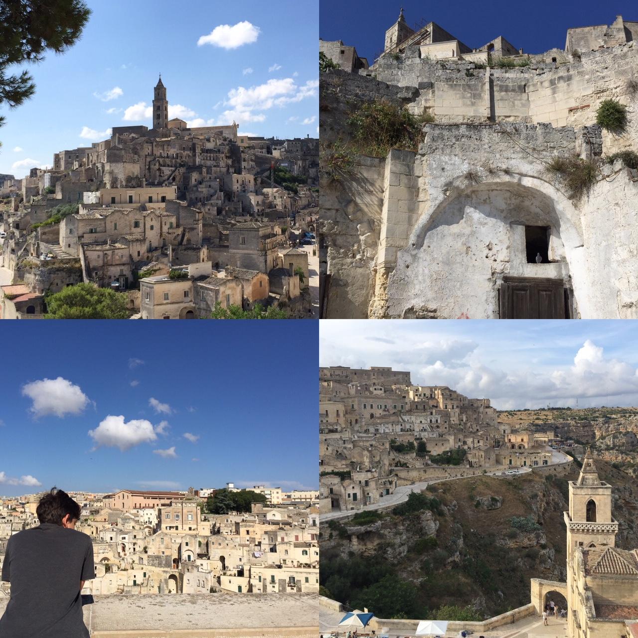 Matera (300 km from Pizzo)