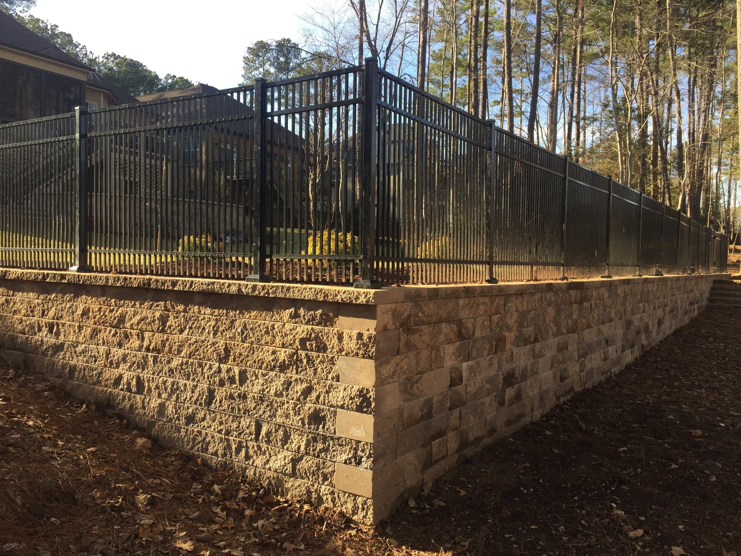 Tech Bloc Wall Installation