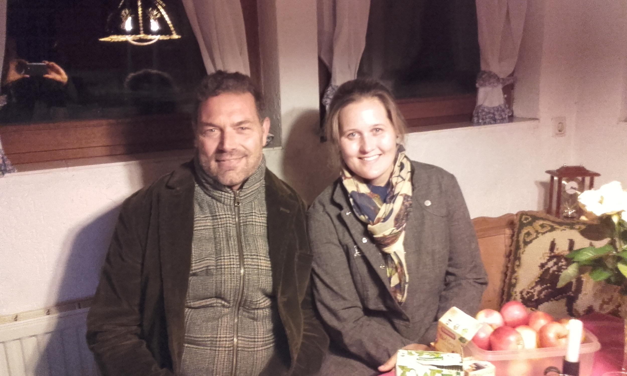 David and I at Zirbelhof, just outside of Aachen.